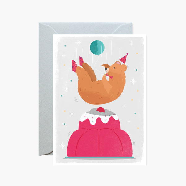 Bear & Jelly Card