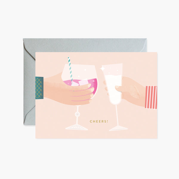 Cheers! Drinks Card