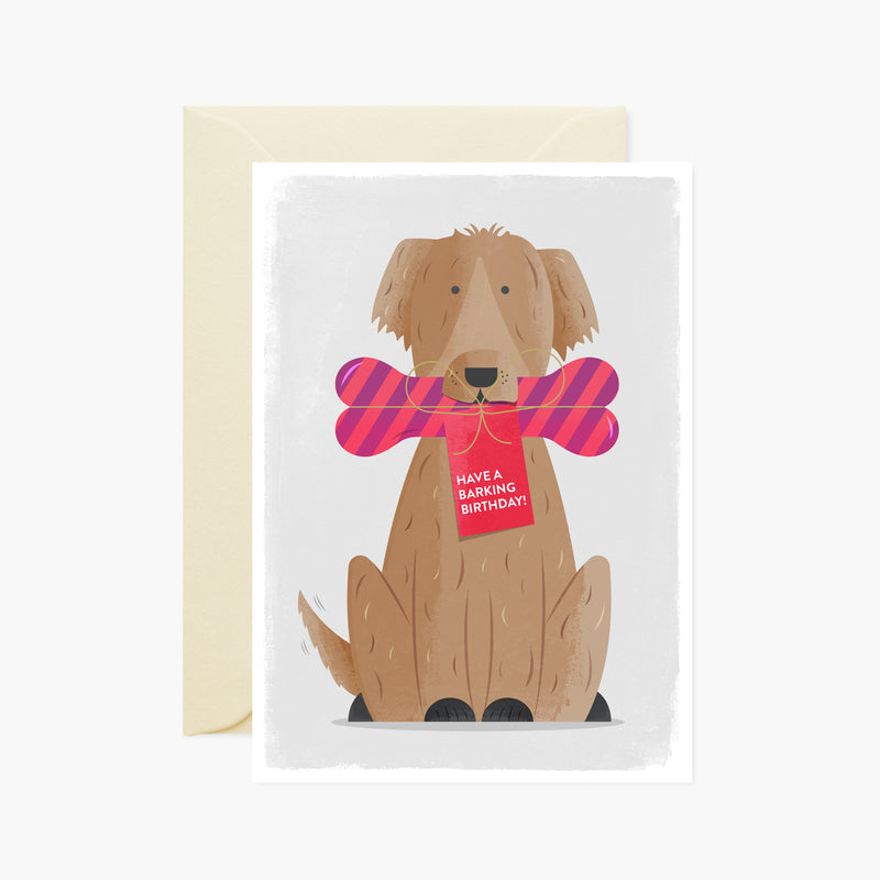 Have a Barking Birthday Card