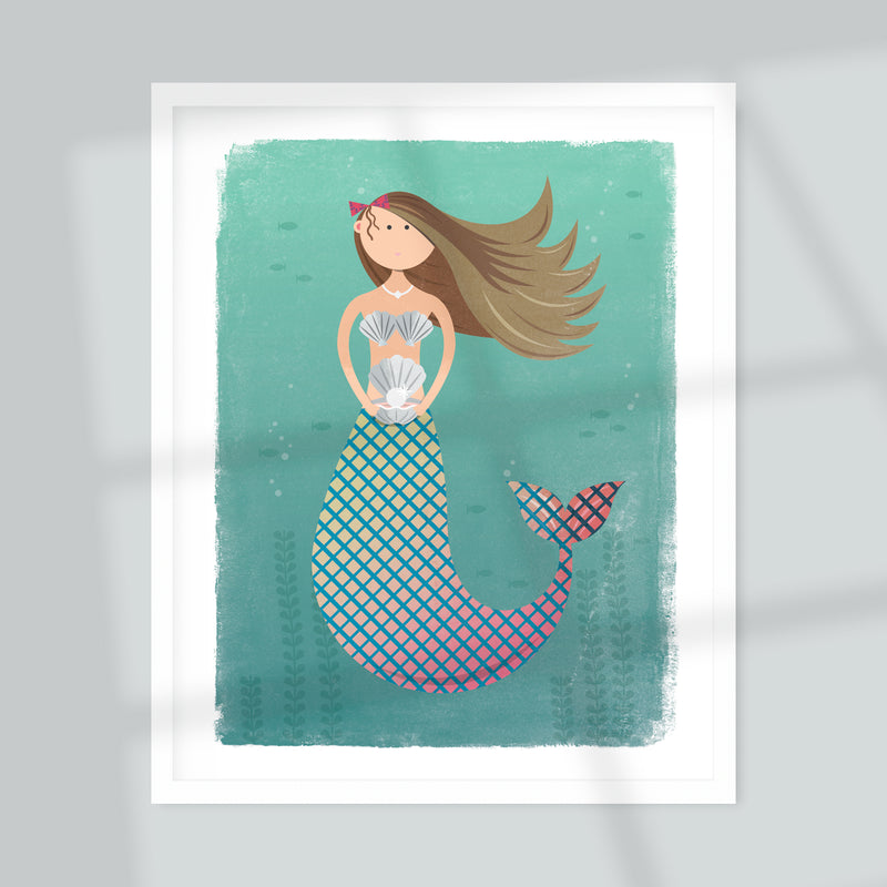Mermaid Giclée Art Print