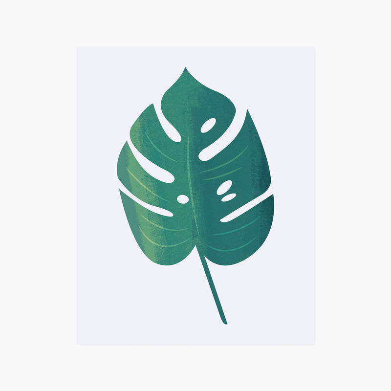 Monstera Leaf Giclée Art Print
