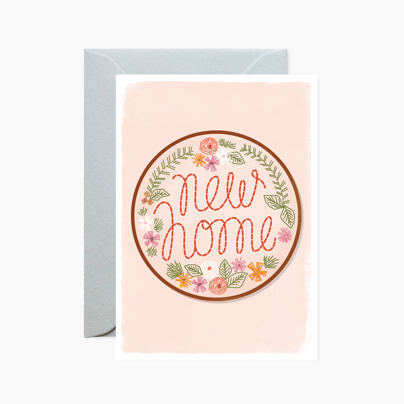 New Home Embroidery card
