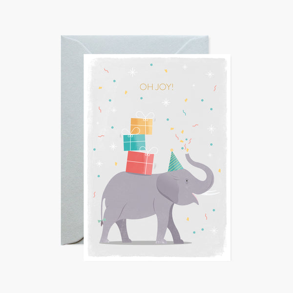 Oh Joy! Elephant Card