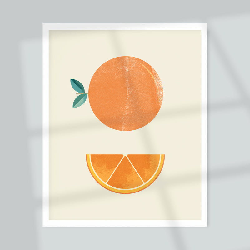 Orange Giclée Art Print