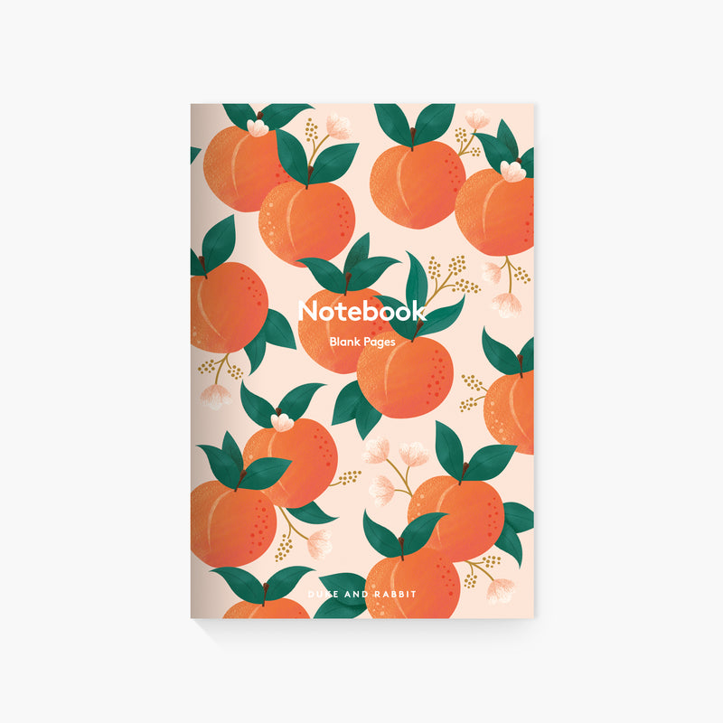 Summer Peaches & Pears Pocket Notebooks