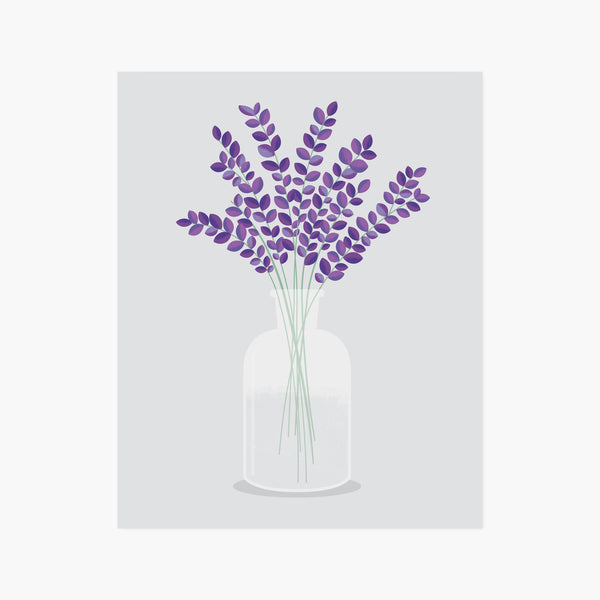 Flowers in Vase No.2 A4 Art Print