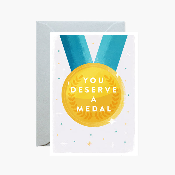 You Deserve a Medal Card