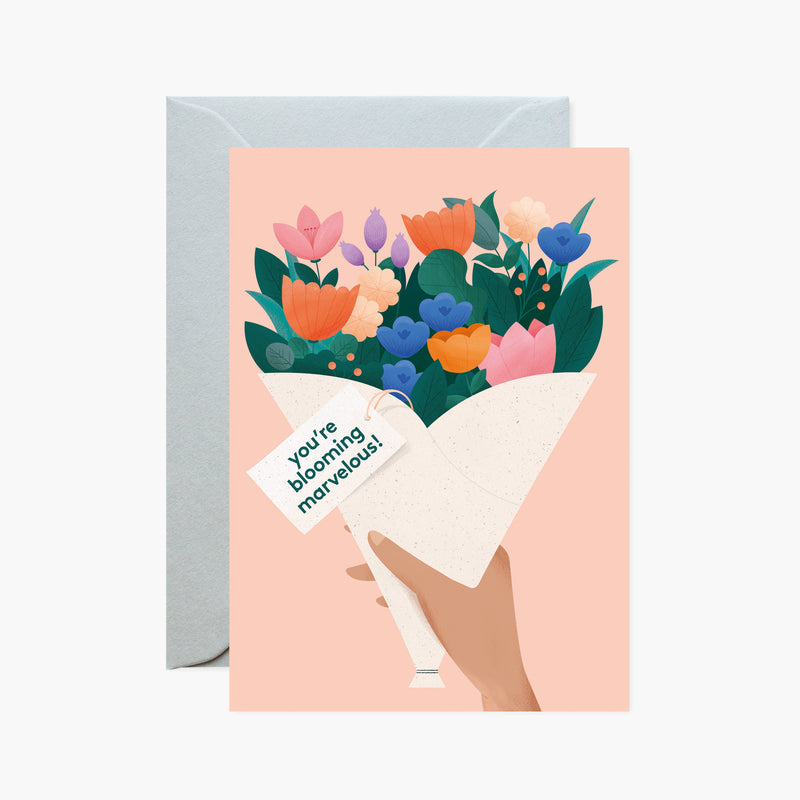 You're Blooming Marvelous! Card