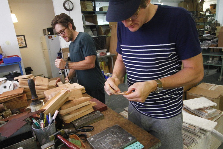 Made to last, a leather maker duo from Jersey City
