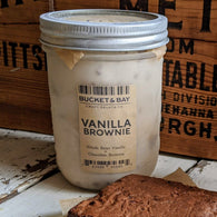 Vanilla Brownie Gelato - Pie 66  - concept shop by Bucket & Bay Craft Gelato Co