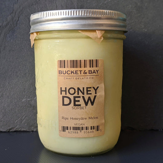 Honeydew Sorbet (v) - Pie 66  - concept shop by Bucket & Bay Craft Gelato Co
