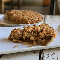 Oatmeal Streusel Apple Pie - Pie 66  - concept shop by Bucket & Bay Craft Gelato Co