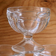 Vintage Ice Cream Glass Cup