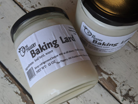 Baking Lard - Non-Hydrogenated