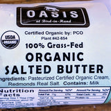 1/2 lb Organic 100% Grass-fed Salted Butter - Pie 66  - concept shop by Bucket & Bay Craft Gelato Co
