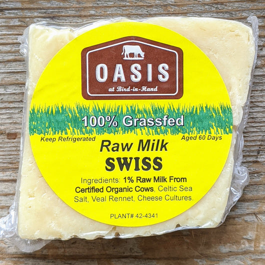 Raw Milk Swiss: 100% Grass-fed Milk (Veg) - Pie 66  - concept shop by Bucket & Bay Craft Gelato Co