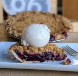 Mixed Berry Crumble Pie - Pie 66  - concept shop by Bucket & Bay Craft Gelato Co