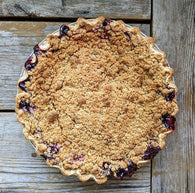 Mixed Berry Crumble Pie
