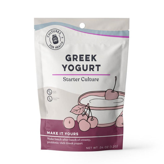 Greek Yogurt Starter Culture - Pie 66  - concept shop by Bucket & Bay Craft Gelato Co