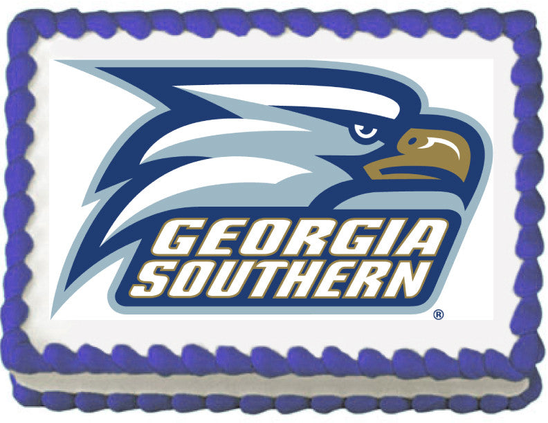 Southern Georgia Eagles Edible Cake, Cupcake & Cookie Topper