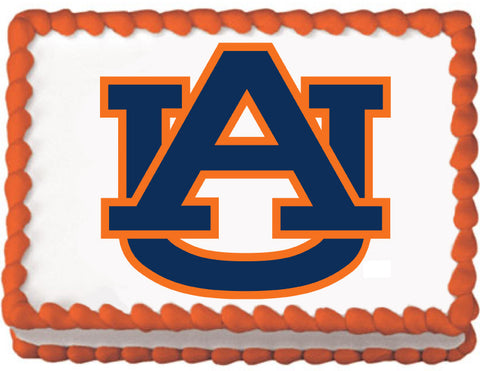 Auburn University Edible Cake, Cupcake & Cookie Topper