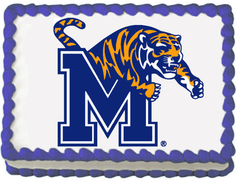 Memphis Tigers Edible Cake, Cupcake & Cookie Topper