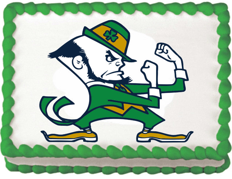 Notre Dame Fighting Irish Edible Cake, Cupcake & Cookie Topper