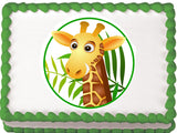 Giraffe Edible Cake, Cupcake & Cookie Topper