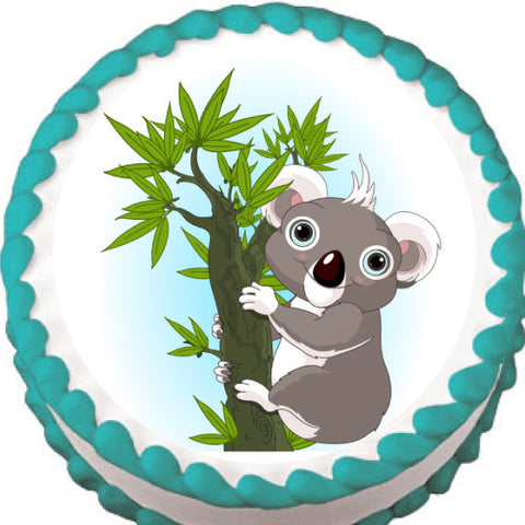 Koala Edible Cake, Cupcake & Cookie Topper
