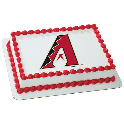 Arizona Diamondbacks MLB Edible Cake, Cupcake & Cookie Topper