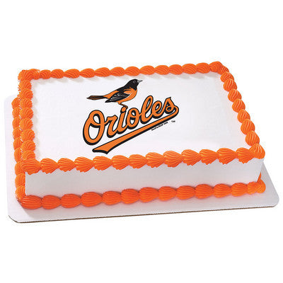 Baltimore Orioles MLB Edible Cake, Cupcake & Cookie Topper