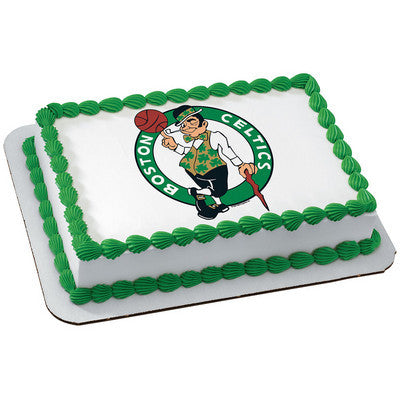 Boston Celtics NBA Edible Cake, Cupcake & Cookie Topper