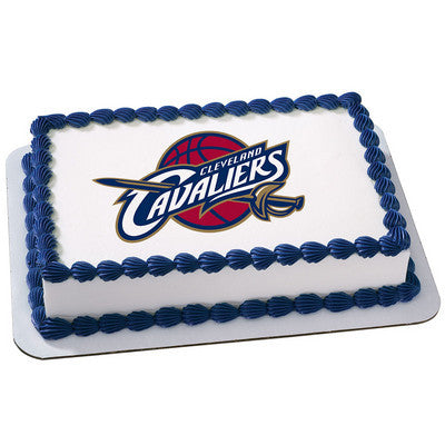 Cleveland Cavaliers NBA Edible Cake, Cupcake & Cookie Topper