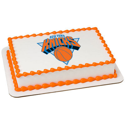 New York Knicks NBA Edible Cake, Cupcake & Cookie Topper
