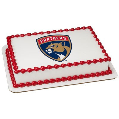 Florida Panthers NHL Edible Cake, Cupcake & Cookie Topper