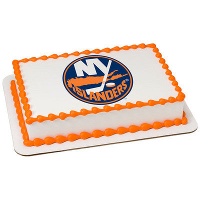 New York Islanders NHL Edible Cake, Cupcake & Cookie Topper