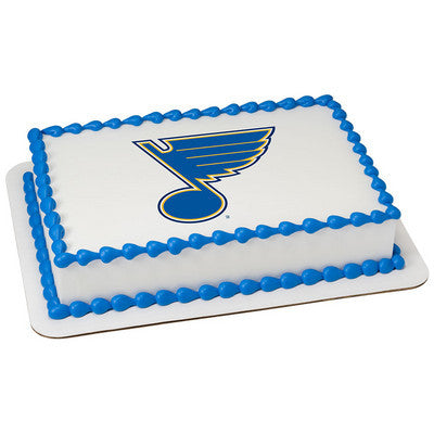 St Louis Blues NHL Edible Cake, Cupcake & Cookie Topper