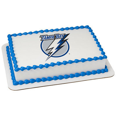 Tampa Bay Lightning NHL Edible Cake, Cupcake & Cookie Topper