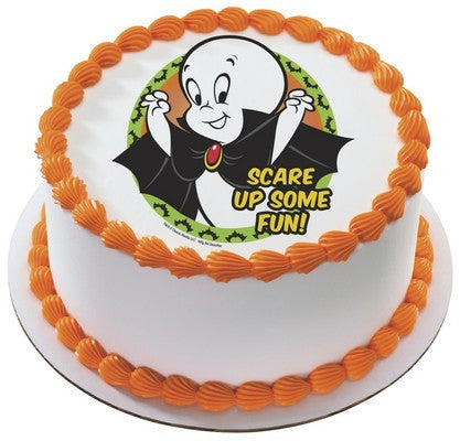 Casper Scare Up Some Fun Edible Cake Side Print