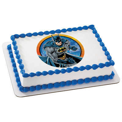 Batman Kaa-Boom Edible Cake, Cupcake & Cookie Topper