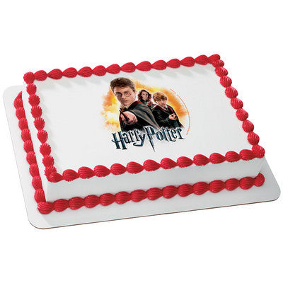 Harry Potter Wands Edible Cake, Cupcake & Cookie Topper