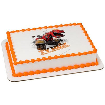 Dinotrux Outside the Toolbox Edible Cake, Cupcake & Cookie Topper