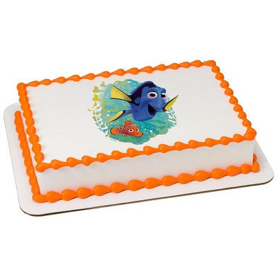 Finding Dory Ocean, Here We Come! Edible Cake, Cupcake & Cookie Topper