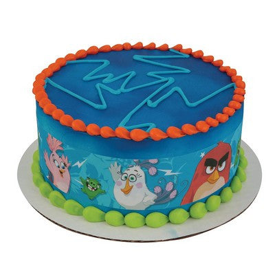 Angry Birds Better, Faster, Angrier Edible Cake Side Print