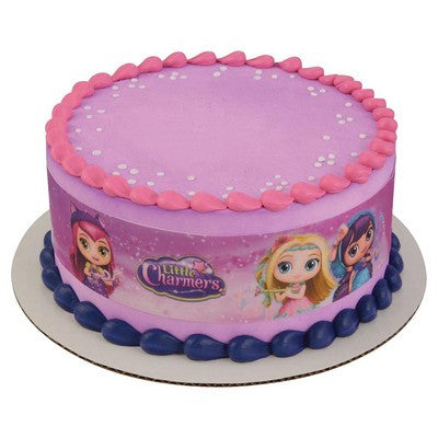 Little Charmers Sparkle Up Edible Cake Side Print
