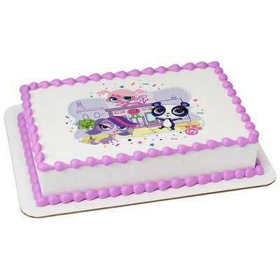 Littlest Pet Shop Pet Shop Pals Edible Cake, Cupcake & Cookie Topper