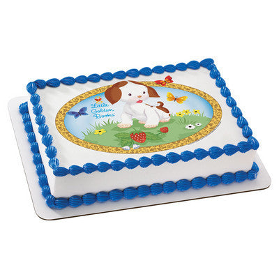 Little Golden Books® The Poky Little Puppy Edible Cake, Cupcake & Cookie Topper