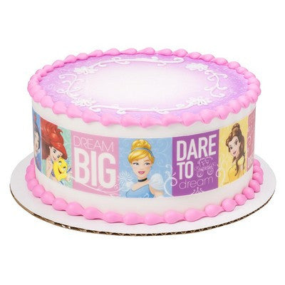 Disney Princess Dream Big Princess Edible Cake Side Print