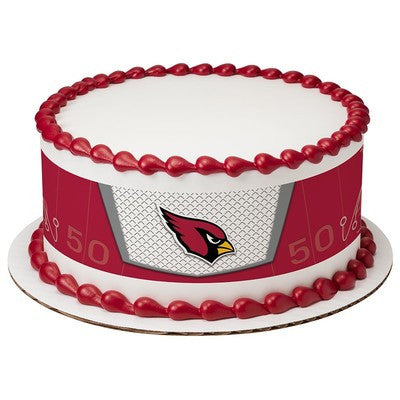 Arizona Cardinals NFL Edible Cake Side Print