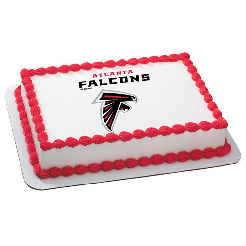 Atlanta Falcons NFL Edible Cake, Cupcake & Cookie Topper